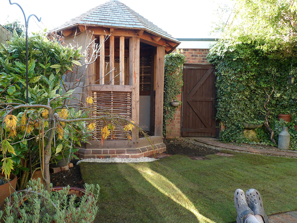 New Octagonal Timber Framed Garden Structure